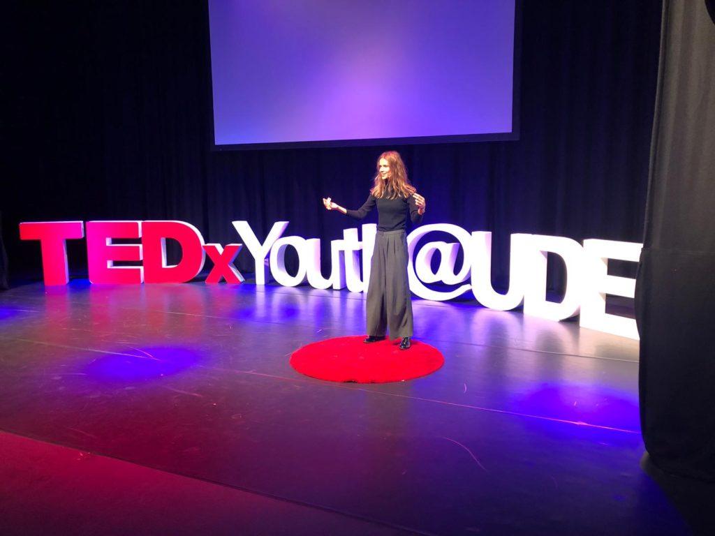 TEDx public speaker empowerment coach self-hypnosis audio public speaking